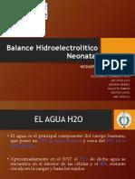 Balance Hidrico Neonatal Final