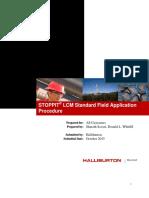 STOPPIT LCM Standard Field Application Procedure