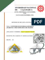 Informe Mecanica de Suelos i