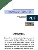 ANEMIAS Red Hematooncologia Region Sanitaria 7