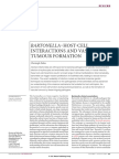 Bartonella–Host-cell Interactions and Vascular Tumour Formation