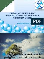 2. Principios Generales y Producción de Energía en Fisiología Médica
