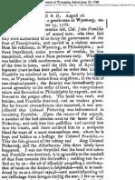 John Franklin Article