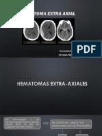 Hematomas Extra Axiales