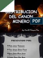 Distribucion Del Canon Minero Una Puno