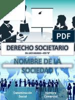 Derecho Societario- Trabajo