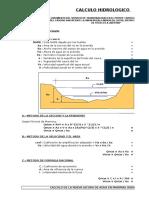 Calculo Hidrologico y Socavacion Pte Siinchivin