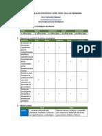 Comparación de Plan Estratégicos Entre Países en El Sector Minero