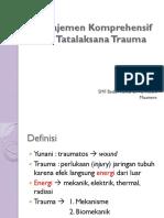 5. Manajemen Komprehensif Trauma