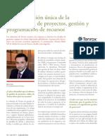 Una integración única de la planificación de proyectos, gestión y programación de recursos.pdf