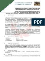 TDR Evaluacion de Expediente Tecnico Riego Tecnificado