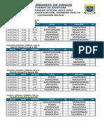 Primera Vuelta, F.C. Torneo Apertura 14-15