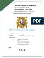 Informe 4 Antiespasmodicos