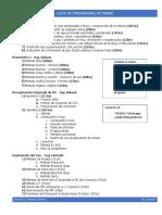 Lista Programas