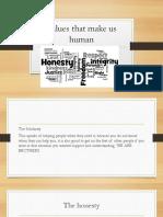 Values that make us human.pptx