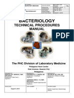 Laboratory Bacteriology