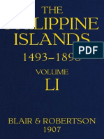 The Philippine Islands, 1493-1898, Volume 51, 1801-1840 by Various
