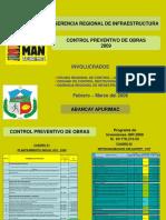 Control preventivo de obras GRA