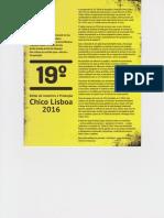 19 Edital Chico Lisboa
