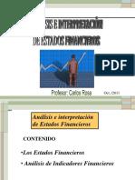 Analisis Financiero Empresa Millenium