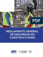 Reglamento Seguridad Construcciones