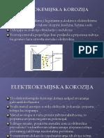 Tematska Cjelina 3 - Elektrokemijska Korozija