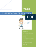 Planificación de Auditoría Tributaria