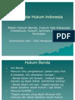 Pengantar Hukum Indonesia_Hukum Benda
