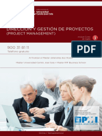 PDF Programa Curso Master Project Management
