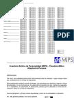 Hoja de Respuestas - Protocolo MIPS