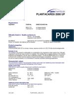 plantacare 2000up