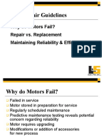 Why Motors Fails