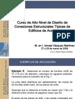 Vázquez, I - Curso de Diseño de Conexiones Estructurales