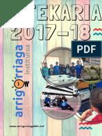 Anuario 2017-18 Urtekaria