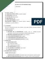 Ficha de Evalución Respiratoria