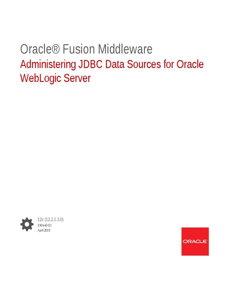 JDBCA | Oracle Database | Load Balancing (Computing)