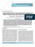 Experimental study on axial compressive strength and elastic modulus of the clay and fly ash brick masonry.pdf