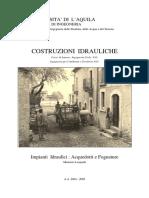 Costruzioni Idrauliche_Acquedotti e Fognature