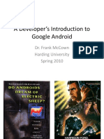 Intro Google Android