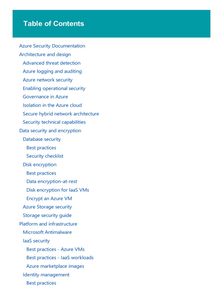 Azure Security   Cloud Computing   Microsoft Azure