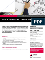 """Design de services / Design Thinking"""
