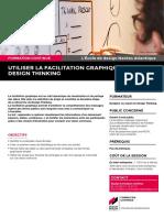 """Présentation du module de formation continue """"Facilitation graphique / Design Thinking"""""""