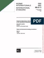IEC 68-2-11 Tests