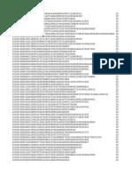 43150 PBO Data NDC Format