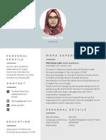 Modern Professional Resume-3