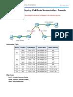 6.4.1.5 Packet Tracer - Configuring IPv4 Route Summarization - Scenario 1 Instructions - IG - CCNAv6.com.pdf