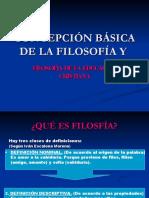 Concepción Filosofica