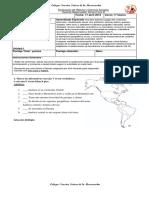 Evaluación de Historia y Ciencias Sociales 4 Ba 22 Mayo