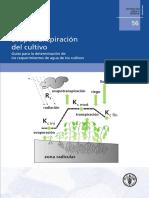 FAO (2006) Evapotranspiración Del Cultivo