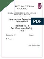 184768017 Practica 4 Rectificacion a Reflujo Total Docx